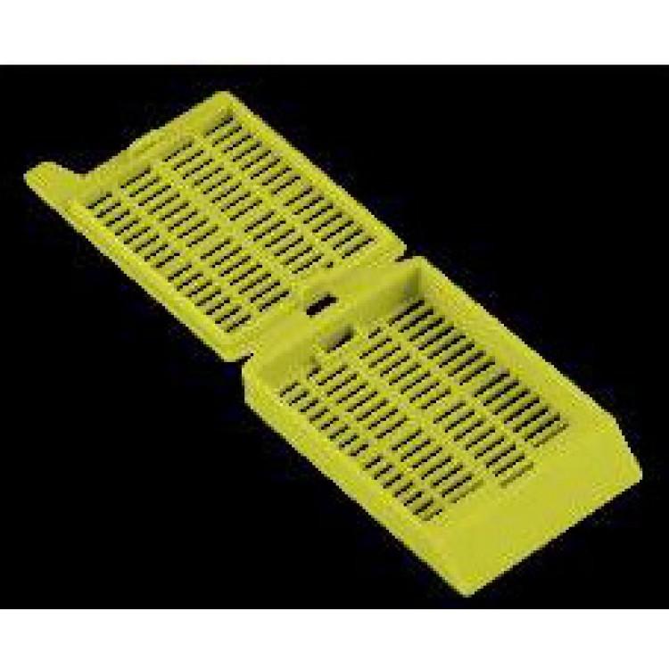 Жълти хистологични касети